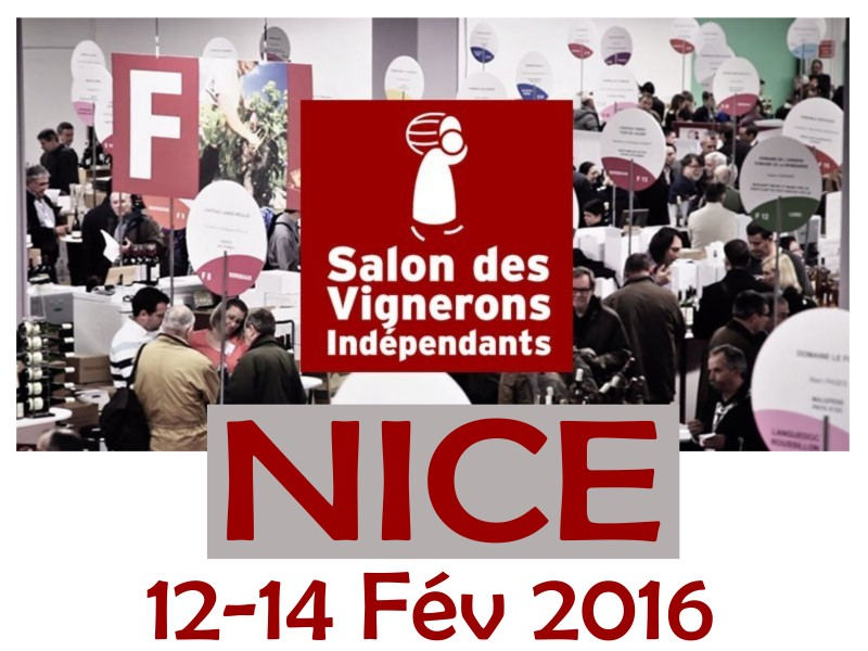 Nice salon des vignerons ind pendants achat vins brunel - Invitation salon des vignerons independants ...
