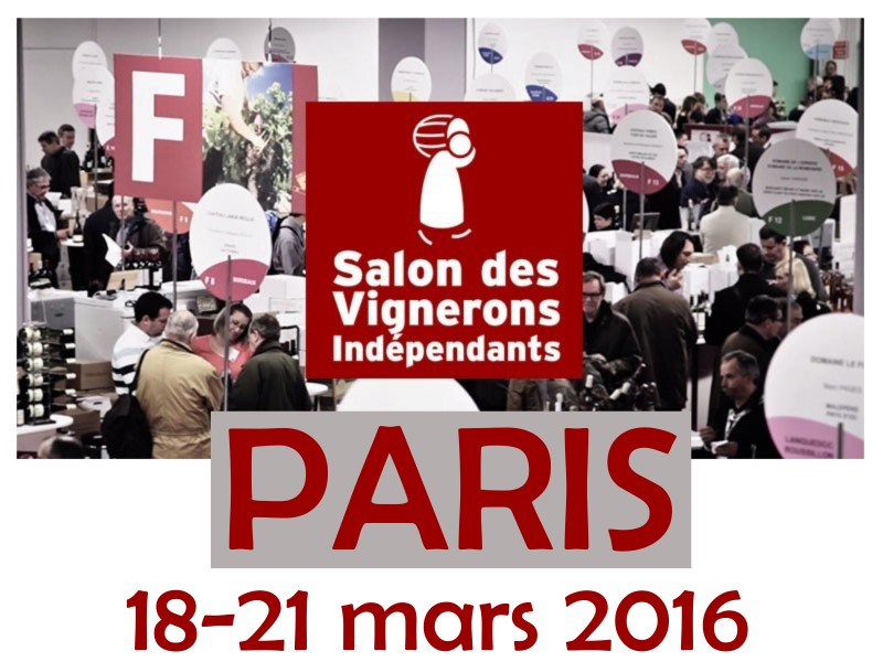 Paris vignerons ind pendants achat vins brunel for Salon des vins paris